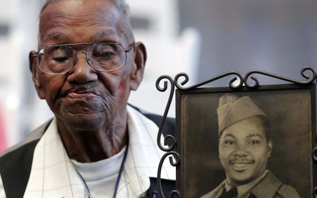 The story of the oldest American veteran