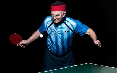 Veteran Ping Pong players